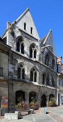 Maison dite des Templiers, actuellement musée Biochet-Brechot - Français:   Caudebec-en-Caux (commune de Rives-en-Seine, département de Seine-Maritime, France): la maison dite \