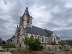 Eglise - Français:   Église Notre-Dame-et-Saint-Mathurin de La Mailleraye-sur-Seine