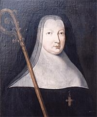 Ancienne abbaye - English:   Laure-Madeleine Cadot de Sébeville, abbess of the Abbaye de Montivilliers from 1682 to 1745
