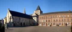 Ancienne abbaye -  L\'abbaye bénédictine de Montivilliers (Seine-Maritime).