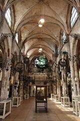 Ancienne église Saint-Laurent - English: Interior of Musée Le Secq des Tournelles, Rouen, France