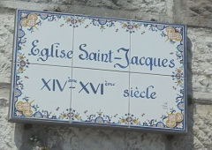Eglise Saint-Jacques - Français:   Eglise Saint Jacques - Le Tréport - Canton d\'Eu - Arrondissement Dieppe - Département Seine-Maritime - Région Normandie - France