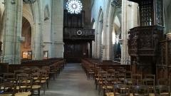 Eglise Saint-Jacques - Français:   Intérieur de l\'église Saint-Jacques du Tréport (Seine-Maritime).