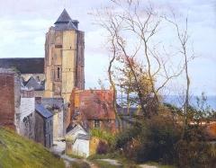 Eglise Saint-Jacques - German painter, university teacher, graphic artist and teacher