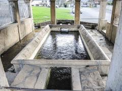 Lavoir - Français:   Bassin du lavoir