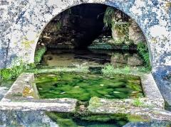 Fontaine Saint-Léger - Français:   Canal d\'alimentation de la fontaine saint-Léger