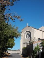 Eglise Saint-Eutrope du Cormenier -  Portail de l'église Sainte-Eutrope du Cormenier à Beauvoir-sur-Niort