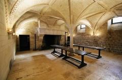 Château, actuellement Hôtel de ville et justice de paix - English: Kitchens in castle of Coulonges-sur-l'Autize in Deux-Sèvres, France.