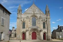 Ancienne abbaye Saint-Jouin - Église abbatiale Sain-Jouin Saint-Jouin-de-Marnes Deux-Sèvres France
