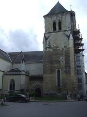 Eglise Saint-Médard - Français:   Église Saint-Médard de Thouars