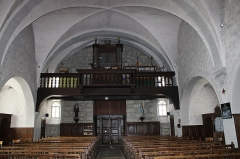 Eglise - Français:   Vue de l\'orgue.