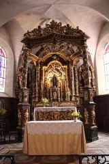 Eglise - Français:   Le ciborium.