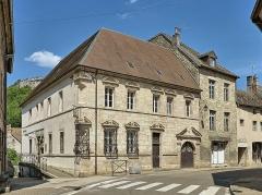 Hôtel Sanderet de Valonne - Français:   L\'hôtel Sanderet de Valonne