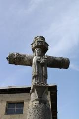 Croix de la Combille - Français:   Détail de la croix de Combille.