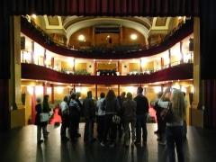 Théatre -   This file was uploaded  with Commonist   Théâtre de Montbéliard. Sur scène.