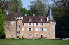 Château - Français:   Vue sur le château de Noironte, au printemps 2019.
