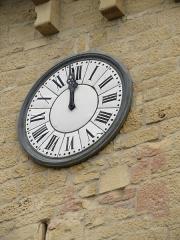 Porte de Ville dite Porte de l'Horloge - English:   Nozeroy, porte de l\'Horloge.