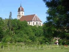 Eglise Saint-Martin -  Église du XVIIIe de Scey sur Saône. Monument Historique