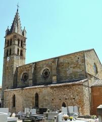 Eglise paroissiale Saint-André - Français:   Alet-les-Bains - Église Saint André