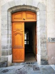 Evêché - English: Carcassonne, palais épiscopal de Carcassonne.