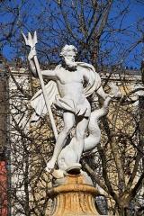 Fontaine monumentale - Français:   Grande fontaine de la Place Carnot, Carcassonne.