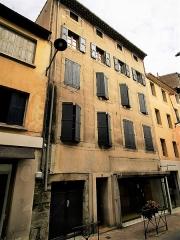 Maison Alaux - English: Carcassonne, maison Alaux.