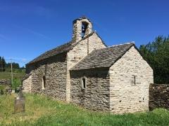 Ancienne église Saint-Sernin de Cupserviès -  Eglise romane Saint-Sernin à Roquefère (Aude)