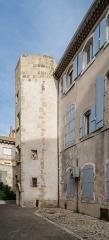 Maison dite de l'Aumône - English: Maison de l'Aumône at 67 rue Droite in Narbonne, Aude, France