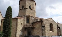 Eglise de l'Assomption - Français:   Rieux-Minervois - Église de l\'Assomption-de-Notre-Dame - Extérieur, côté sud