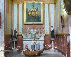 Eglise Saint-Paul, ancienne église des Cordeliers - Français:   Chapelle dédiée aux Saintes Maries Jacobé & Salomé enterrées, d\'après la légende, aux Saintes-Maries-de-la-Mer en Camargue.