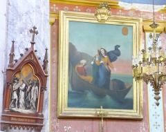 Eglise Saint-Paul, ancienne église des Cordeliers - Français:   Marie-Jacobé, Marie-Salomé et Sarah dans leur barque(XIXe).