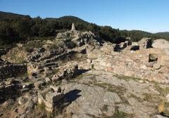 Via Domitia (également sur communes de Redessan et Jonquières-Saint-Vincent, dans le Gard, et Castelnau-le-Lez, dans l'Hérault) - English: Archaeological site of Panissars at the Roman crossroads of Via Domitia and Via Augusta, ruins of the 11th ctry. monastery