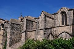 Eglise Saint-Saturnin -  Church of Calvisson in ancient building style