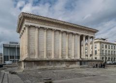 Maison Carrée - English: Maison Carrée in Nîmes, Gard, France