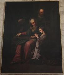 Chapelle des Pénitents Bleus - Français:   Chapelle des Pénitents bleus: Peinture de la Vierge enfant.