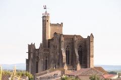 Eglise Saint-Etienne -  Canal du Midi-1216. Église Saint-Étienne de Capestang.