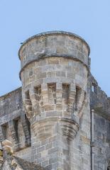 Ancienne cathédrale, actuelle église paroissiale Saint-Fulcran - English: Turret of the Saint Fulcran cathedral of Lodève, Hérault, France