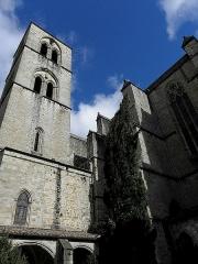 Ancienne cathédrale, actuelle église paroissiale Saint-Fulcran - Extérieur de la cathédrale Saint-Fulcran de Lodève (34).