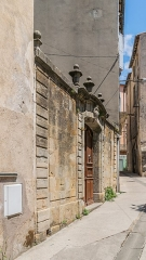 Ancien hôtel Albouy - English:   Hôtel Albouy at 4 Rue Cavalerie in Lodève, Hérault, France
