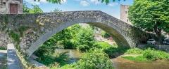 Pont de Montifort - English: Pont de Montifort in Lodève, Hérault, France