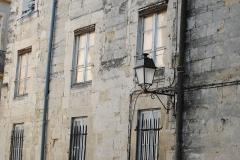 Ancien hôtel de Belleval, dit aussi Richer de Belleval ou Boulhaco, ou ancien hôtel de ville -  Détail de la façade Nord de l'hôtel de Belleval situé dans le rue de l'hôtel de ville (ou plus communément La place de la Canourgue) à Montpellier.