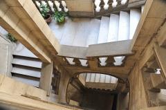 Hôtel des Trésoriers de la Bourse - Français:   Hôtel des Trésoriers de la Bourse, XVIIème siècle, Montpellier.