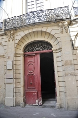 Hôtel de Varennes - Hôtel de Varennes, Montpellier.