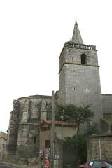 Eglise Saint-Saturnin - Français:   Nissan-lez-Enserune (Hérault) - église Saint-Saturnin - clocher