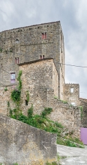 Ancien château ou donjon - English: Keep of the castle of Soubès, Hérault, France