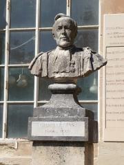 Jardin des Plantes - Català: Bust de Charles Frédéric Martins al Jardí Botànic de Montpeller