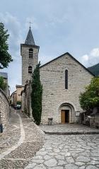 Eglise paroissiale Sainte-Enimie - Polish Wikimedian and photographer Free-license photographer