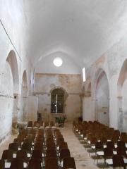 Prieuré Saint-Estève de Monastir-del-Camp - Català: Interior de l'església de Santa Maria del Camp