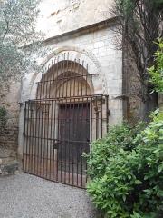 Prieuré Saint-Estève de Monastir-del-Camp - Català: Portalada romànica del Monestir del Camp