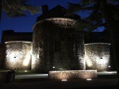 Eglise Saint-André de Sorède - Français:   EGLISE DE NUIT